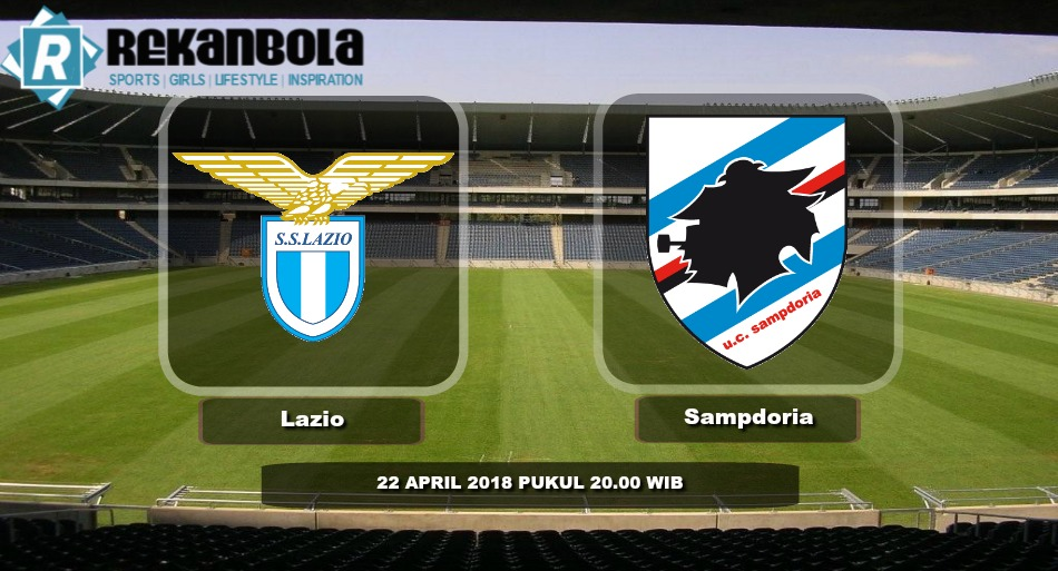 Live Streaming Serie A Italia Lazio vs Sampdoria, Minggu 22 April 2018