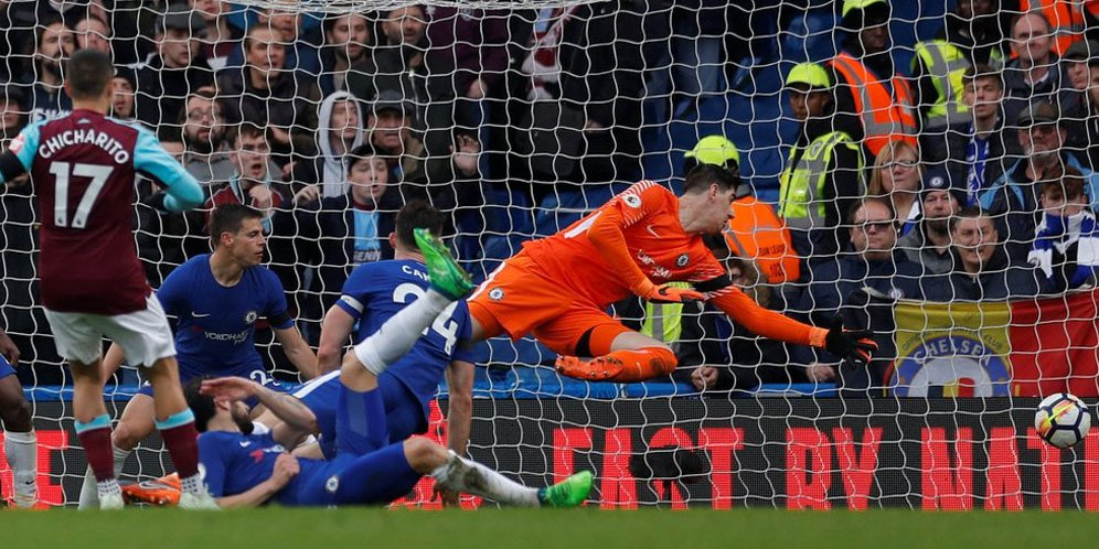 Highlights Premier League: Chelsea 1-1 West Ham