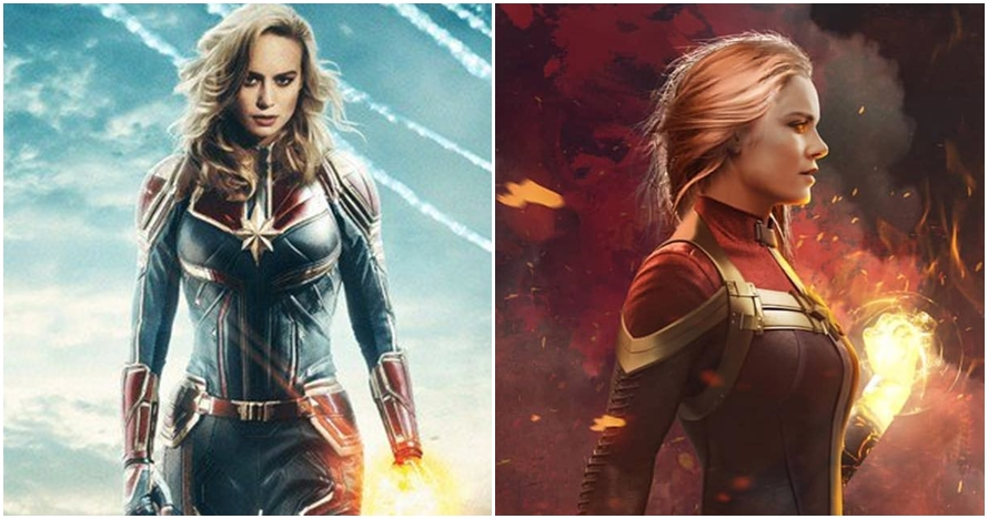 5 Kekuatan Captain Marvel, hero misterius di akhir film Infinity War