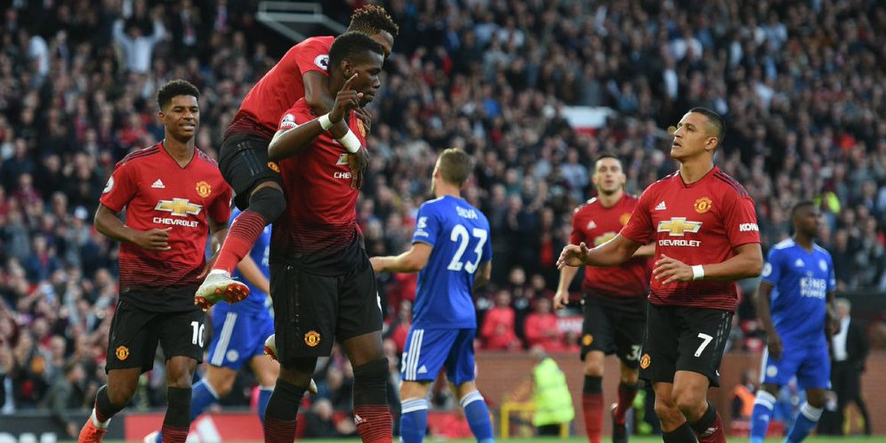 Hasil Pertandingan Manchester United vs Leicester City: Skor 2-1