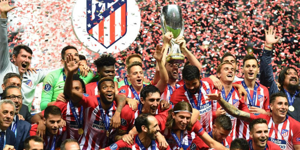 Cuplikan Gol Piala Super Eropa: Real Madrid 2-4 Atletico Madrid