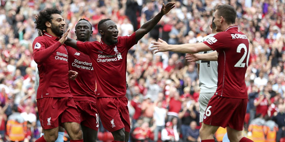 Hasil Pertandingan Liverpool vs West Ham: Skor 4-0