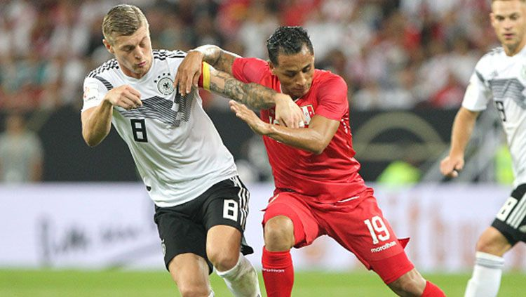 Highlights Friendly: Jerman 2-1 Peru