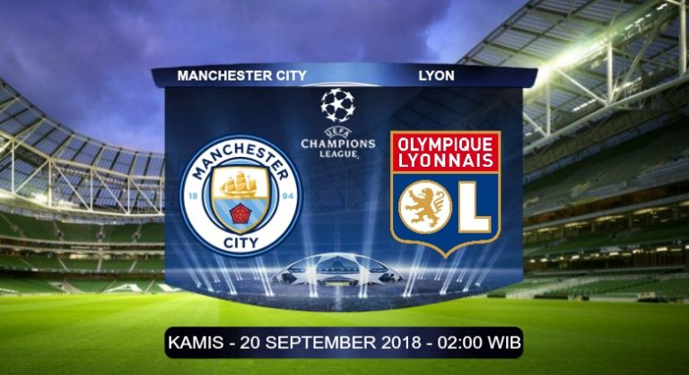 Prediksi Skor Manchester City vs Lyon 20 September 2018