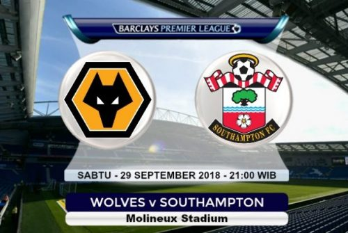 Prediksi Skor Wolves vs Southampton 29 September 2018