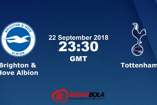 Nonton Siaran Live Streaming Brighton Vs Tottenham 22 September 2018