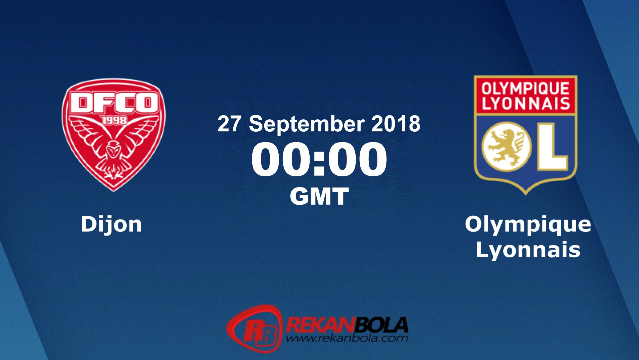 Nonton Siaran Live Streaming Dijon Vs Lyon 27 September 2018