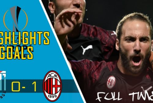 Video Gol F91 Dudelange vs AC Milan (0 – 1)