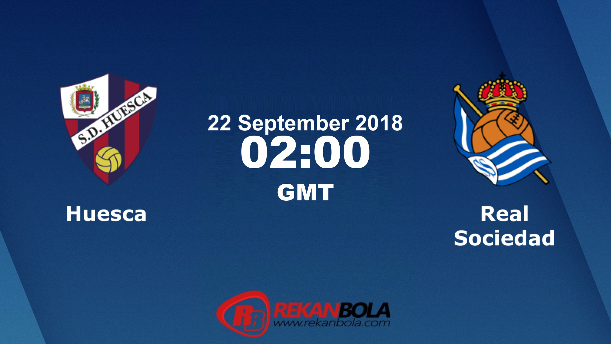Nonton Siaran Live Streaming Huesca Vs Sociedad 22 September 2018