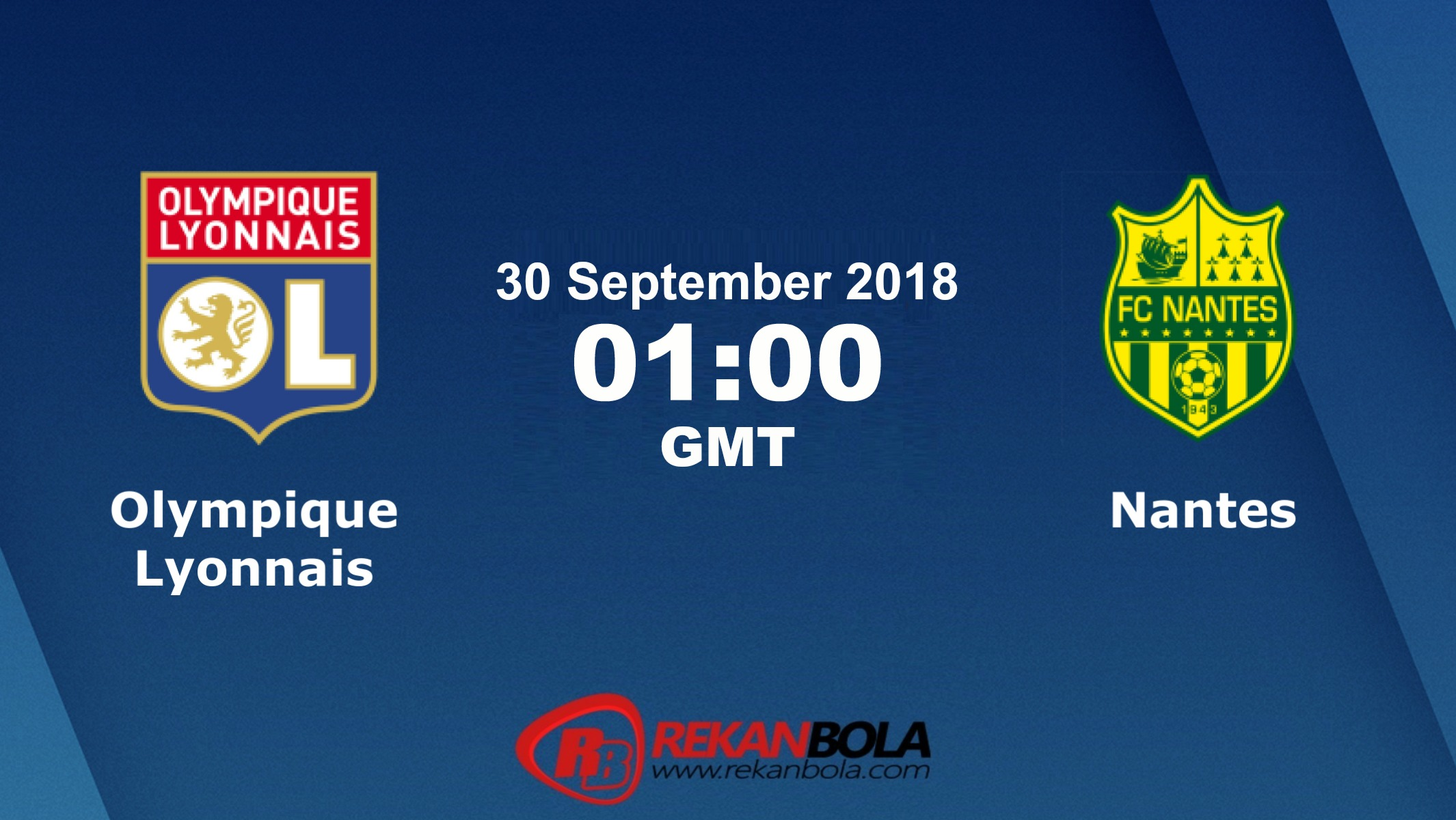 Nonton Siaran Live Streaming Lyon Vs Nantes 30 September 2018