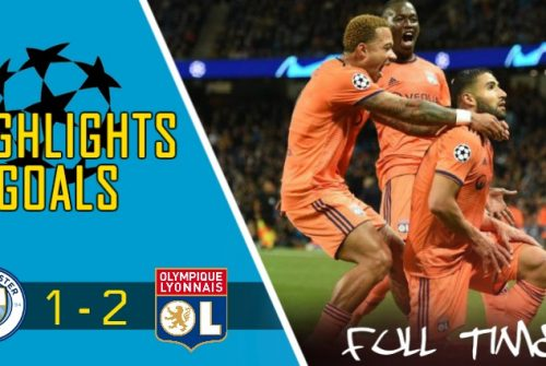 Video Gol Manchester City vs Lyon (1 – 2)