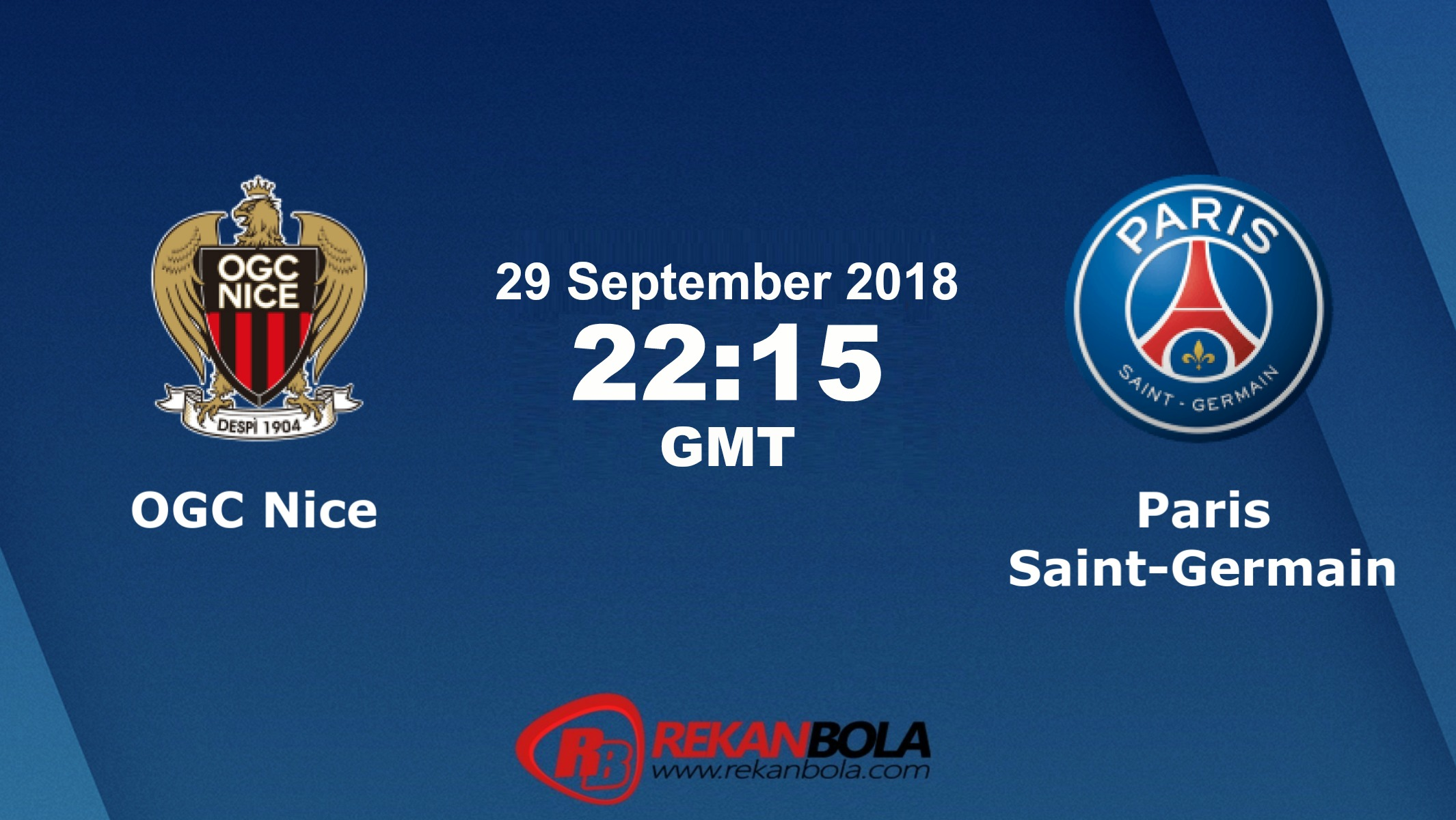 Nonton Siaran Live Streaming Nice Vs PSG 29 September 2018