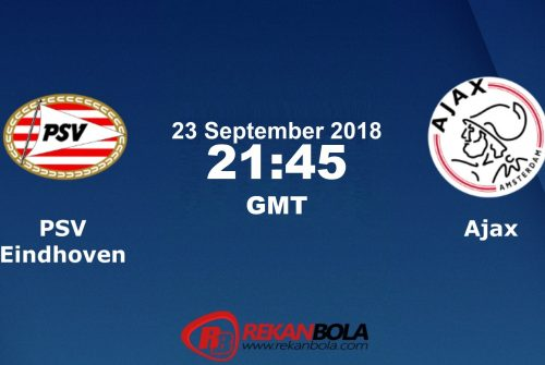 Nonton Siaran Live Streaming PSV Vs Ajax 23 September 2018