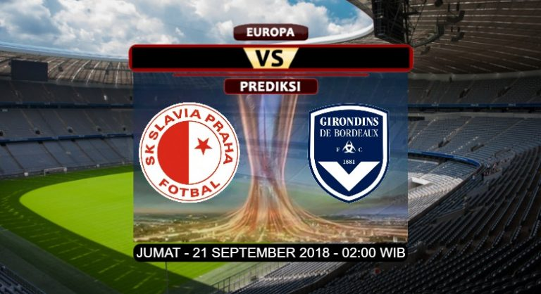Prediksi Skor Slavia Prague vs Bordeaux 21 September 2018