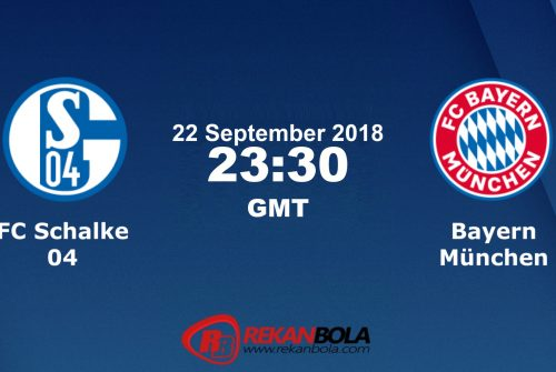 Nonton Siaran Live Streaming Schalke Vs Bayern 22 September 2018
