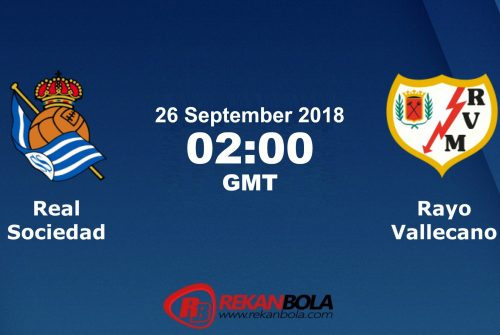 Nonton Siaran Live Streaming Sociedad Vs Rayo 26 September 2018