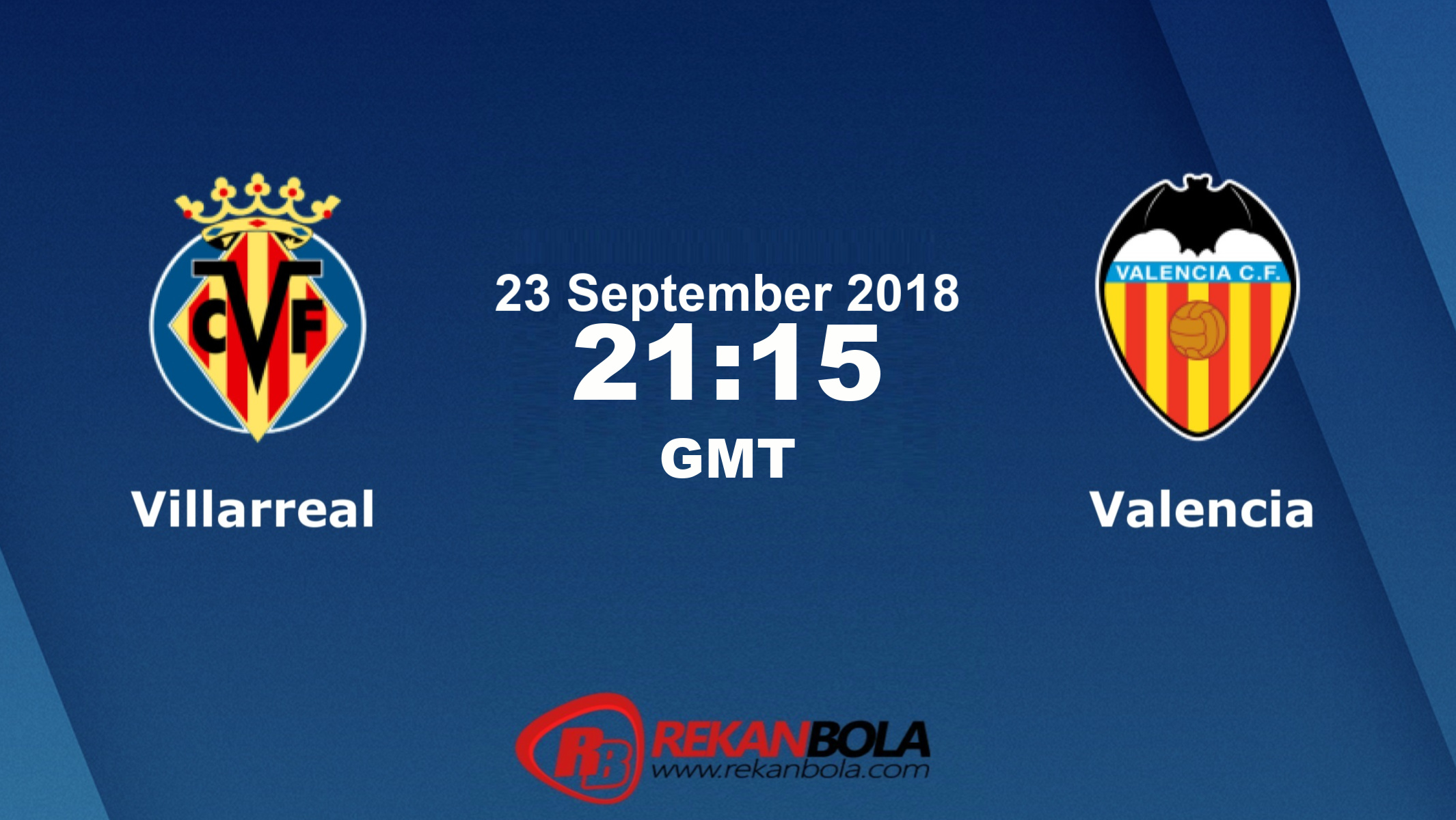 Nonton Siaran Live Streaming Villarreal Vs Valencia 23 September 2018