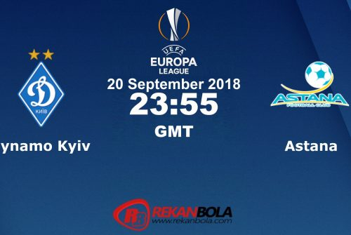 Nonton Siaran Live Streaming Dynamo Vs Astana 20 September 2018