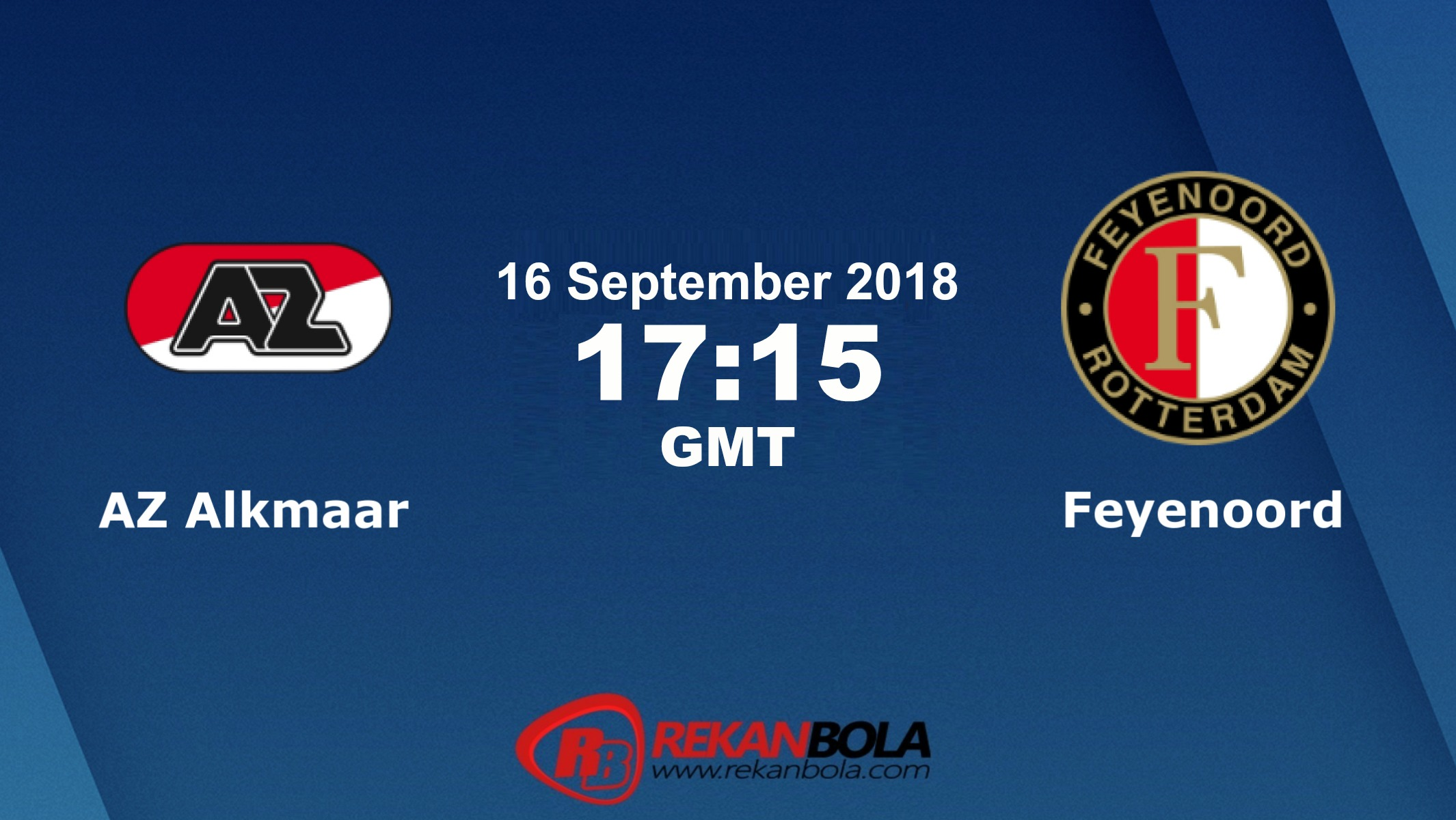 Nonton Siaran Live Streaming AZ Vs Feyenoord 16 September 2018