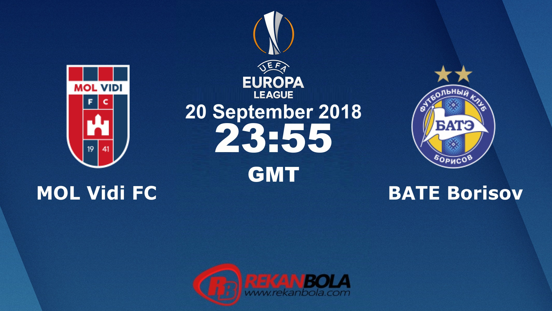 Nonton Siaran Live Streaming Videoton Vs BATE 20 September 2018