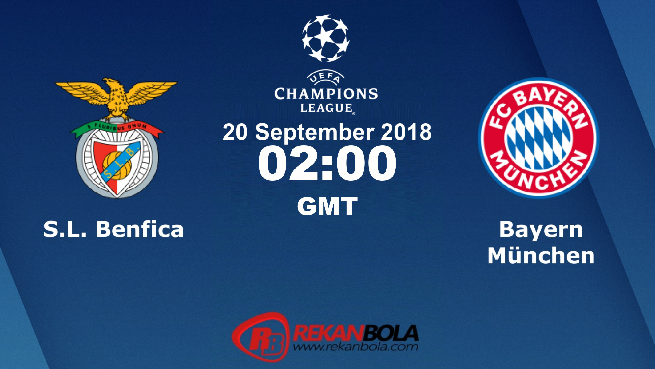 Nonton Siaran Live Streaming Benfica Vs Bayern Munich 20 September 2018