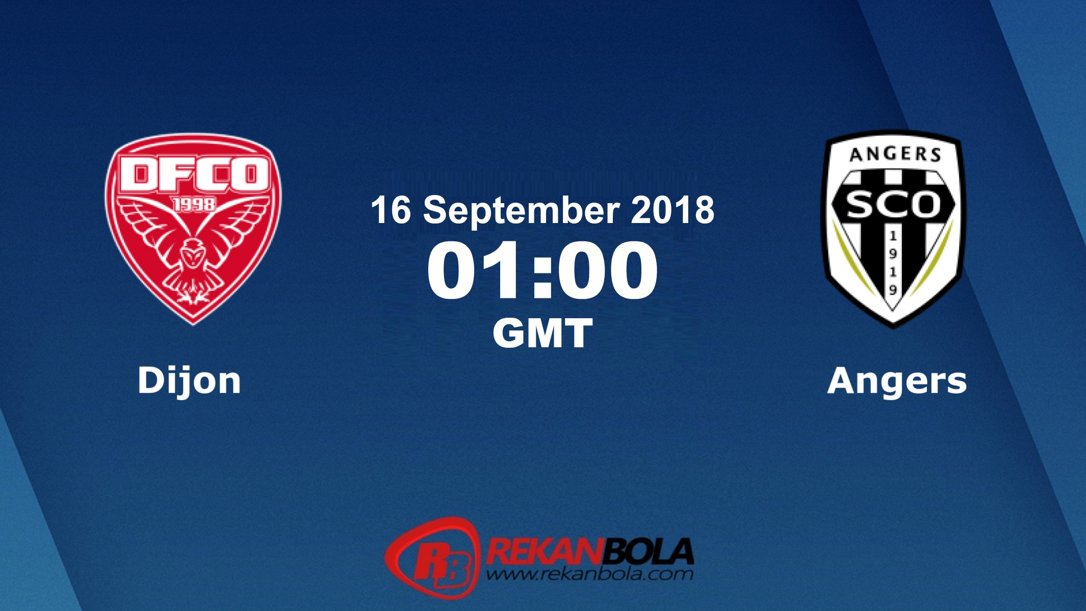 Nonton Siaran Live Streaming Dijon Vs Angers 16 September 2018