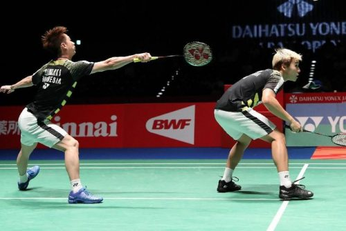 Kevin/Marcus Gagal ke Final China Terbuka
