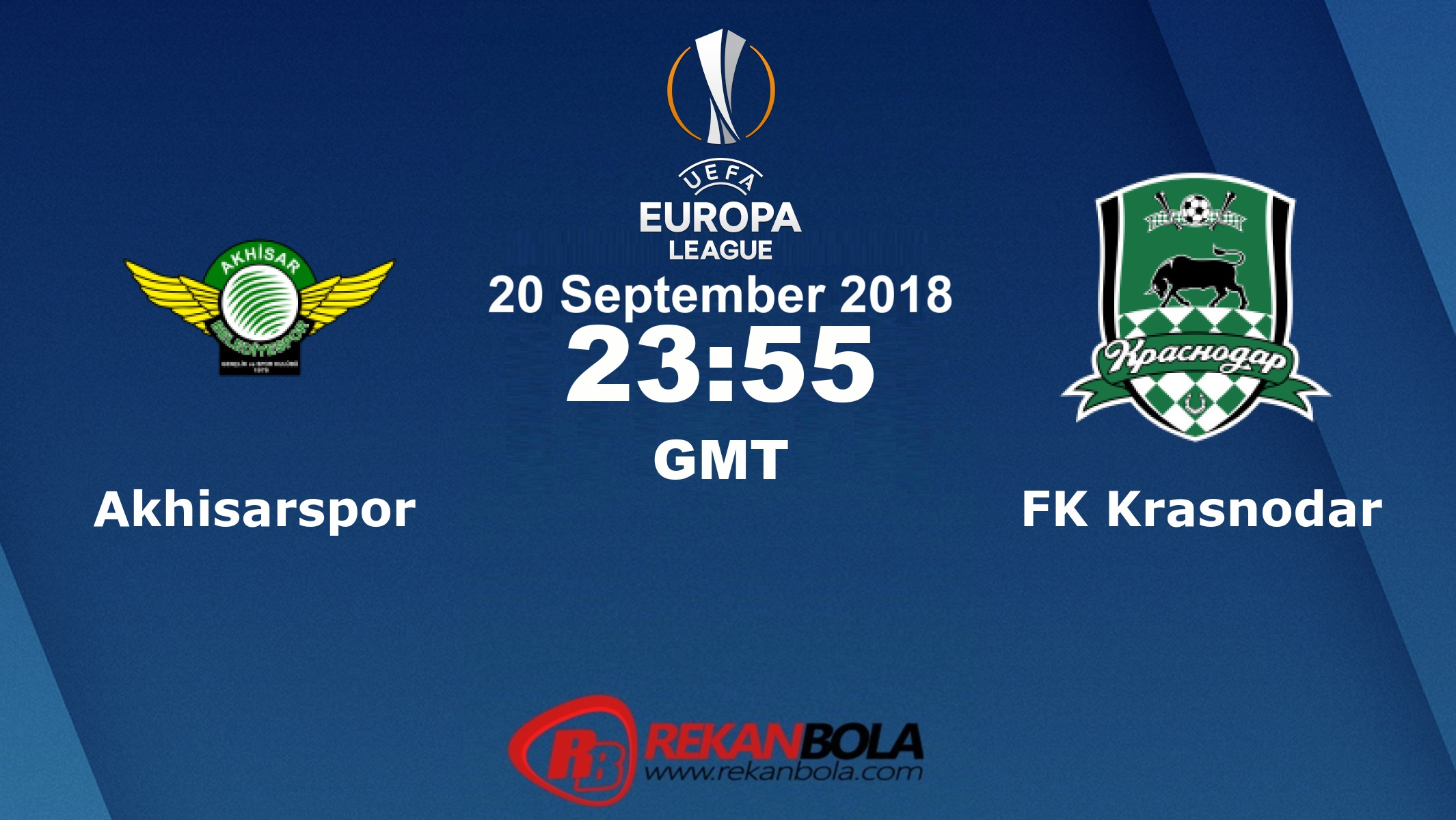 Nonton Siaran Live Streaming Akhisar Vs Krasnodar 20 September 2018