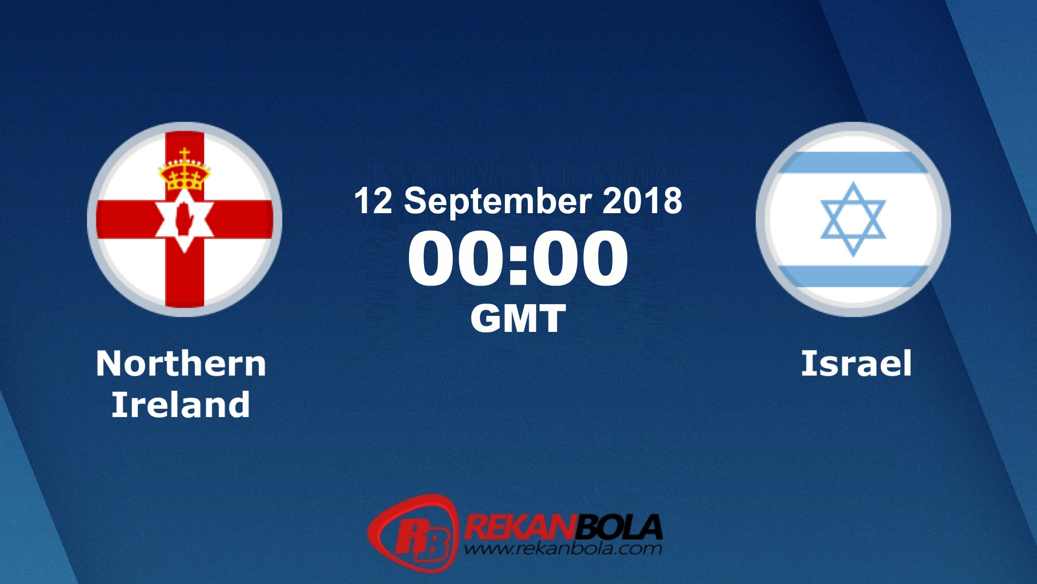 Nonton Siaran Live Streaming Irlandia Utara Vs Israel 12 September 2018