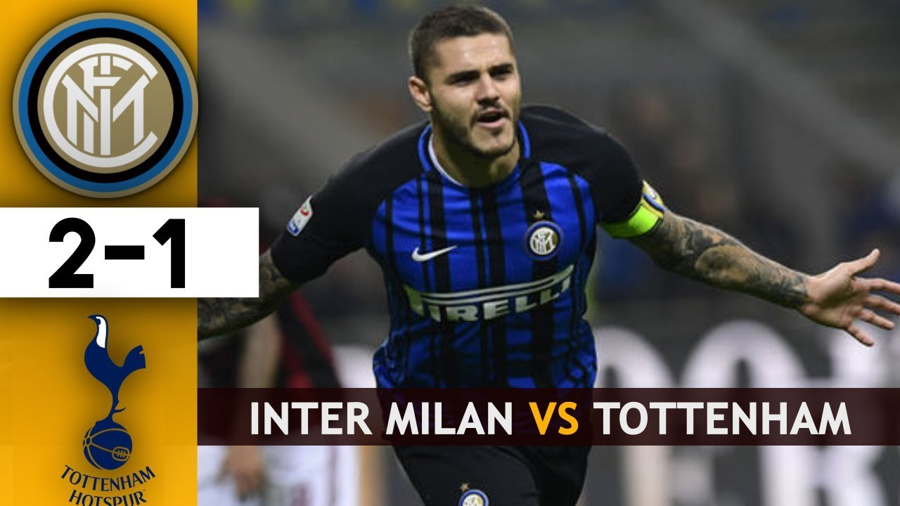 Highlights Liga Champions: Inter Milan 2-1 Tottenham