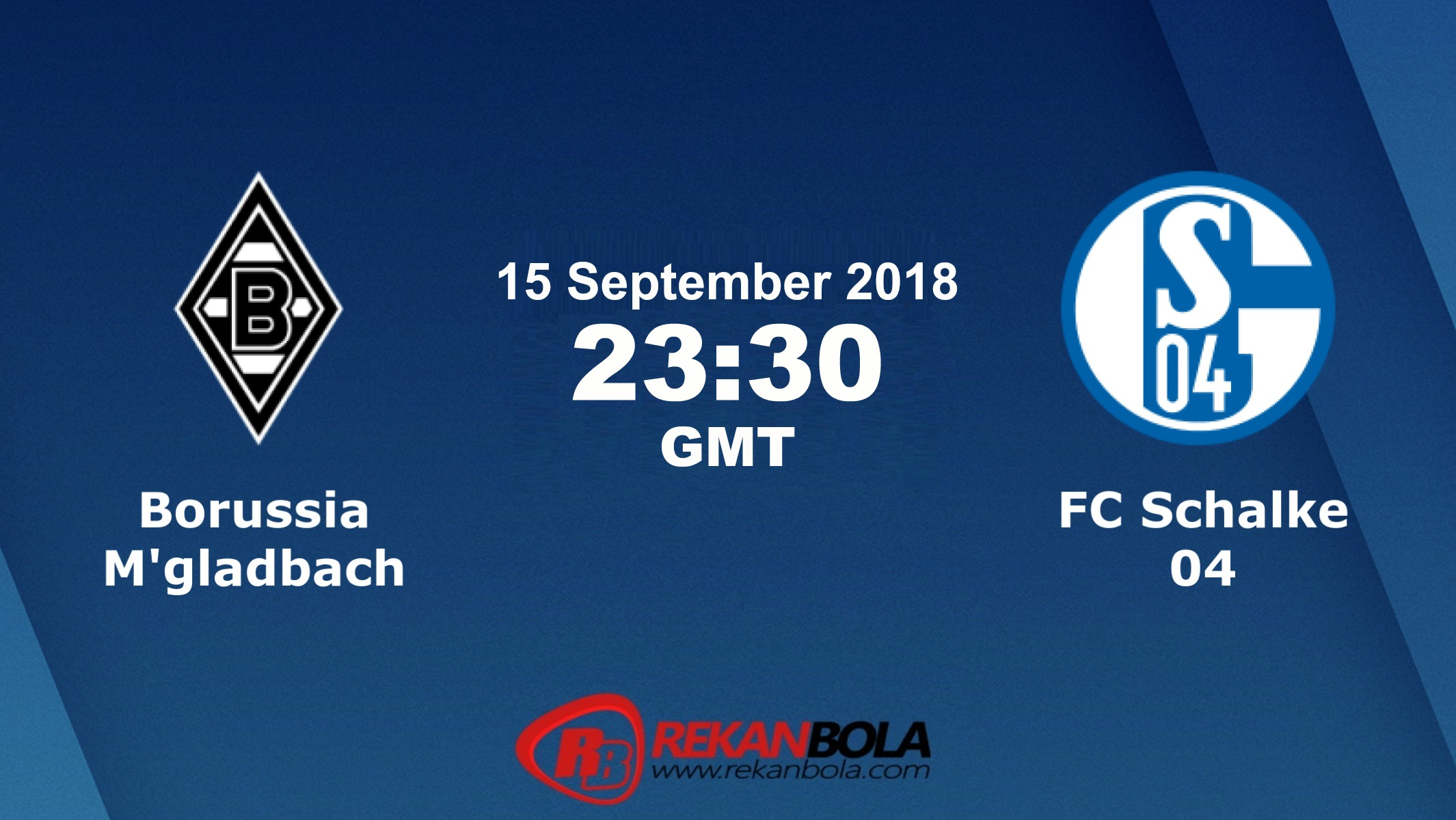 Nonton Siaran Live Streaming M'Gladbach Vs Schalke 15 September 2018