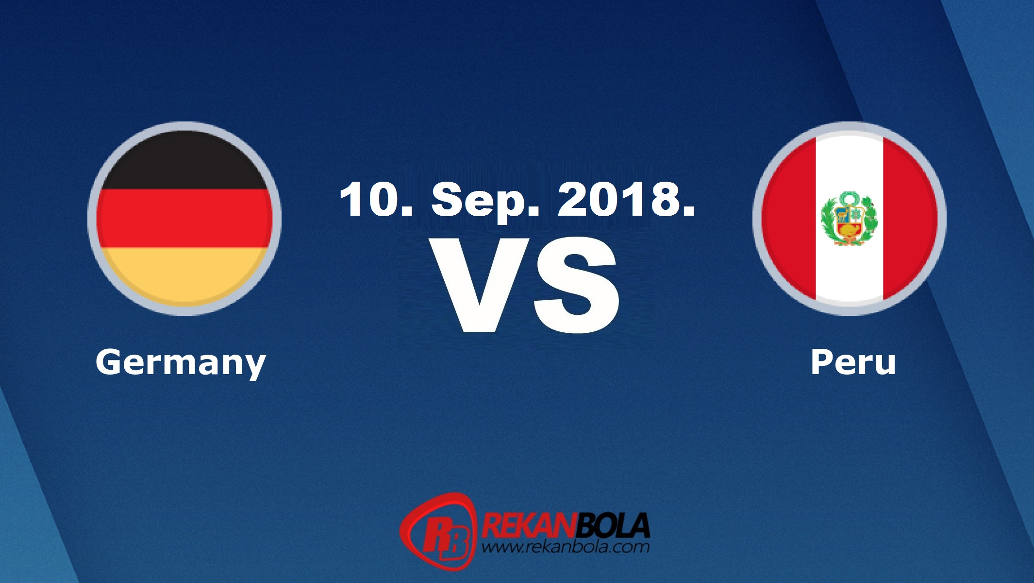 Nonton Siaran Live Streaming Jerman Vs Peru 10 September 2018