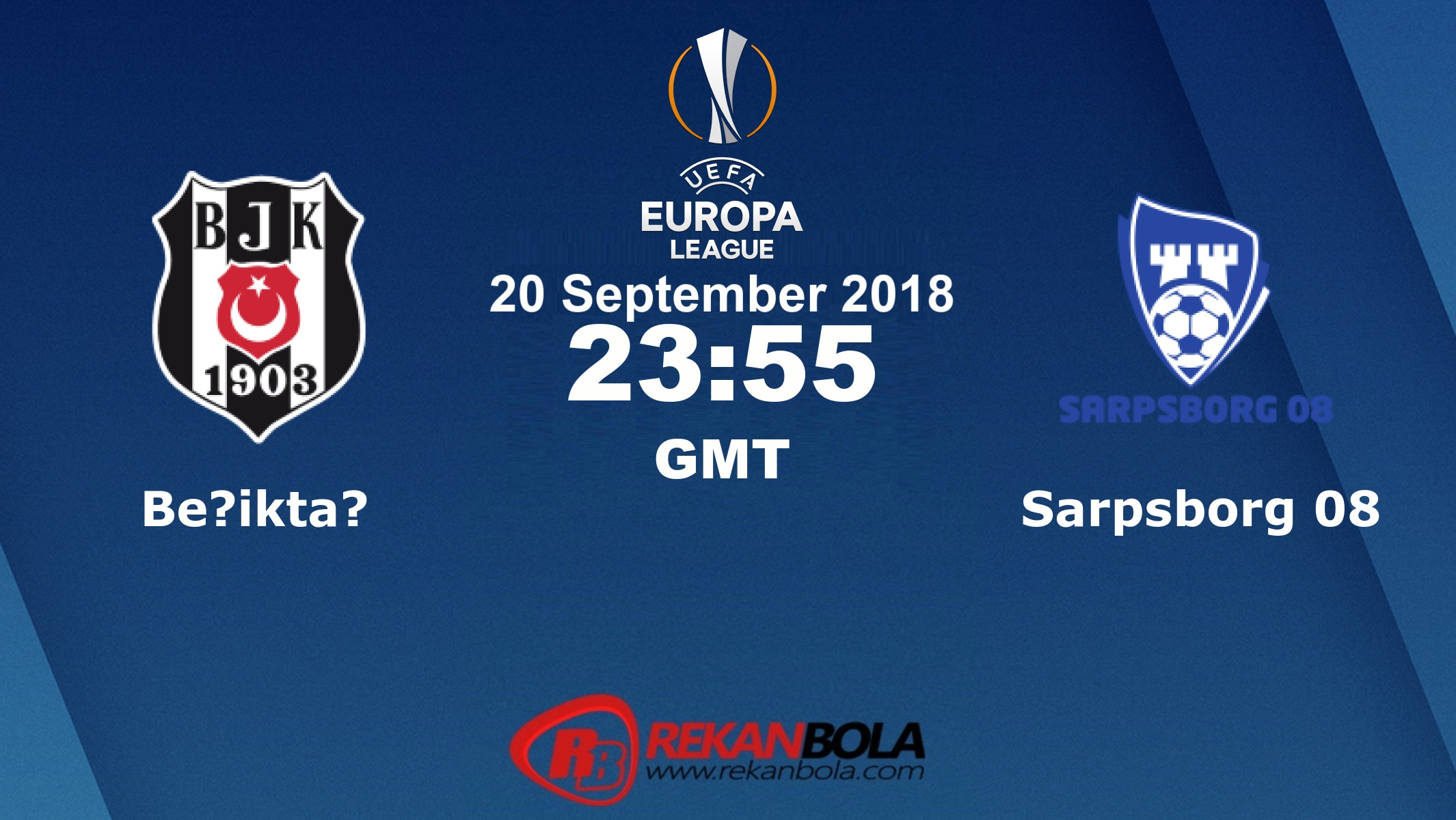 Nonton Siaran Live Streaming Beşiktaş Vs Sarpsborg 20 September 2018