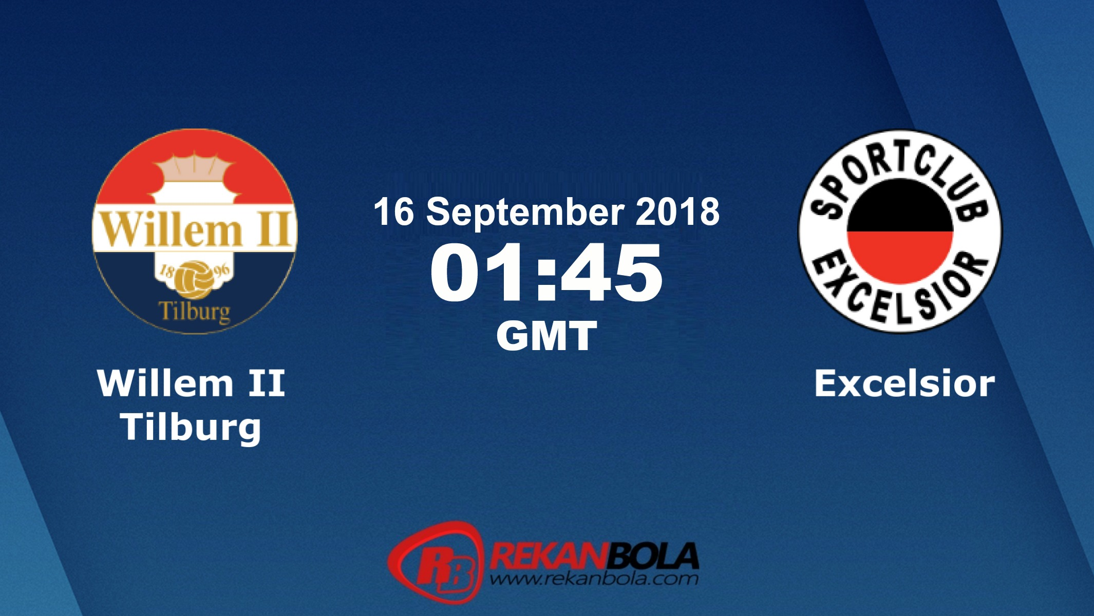 Nonton Siaran Live Streaming Willem II	Vs Excelsior 16 September 2018
