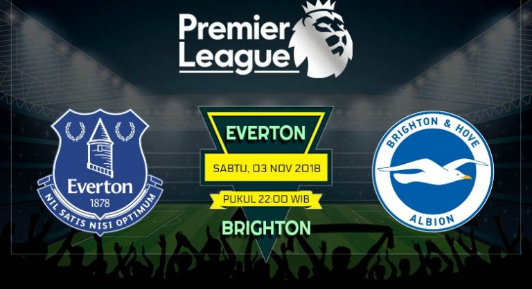 Prediksi Skor Everton vs Brighton 03 November 2018