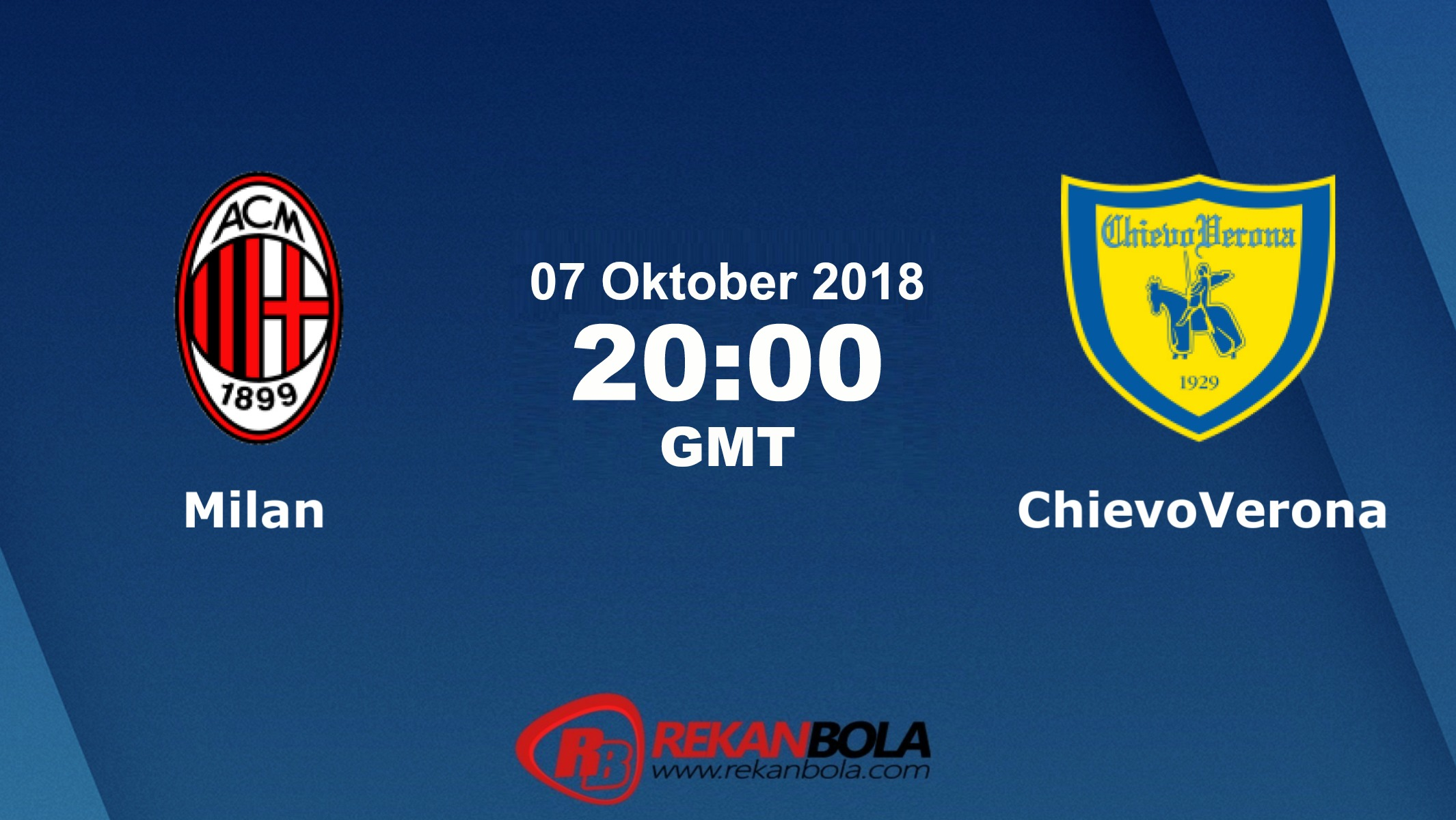 Nonton Siaran Live Streaming AC Milan Vs Chievo 07 Oktober 2018