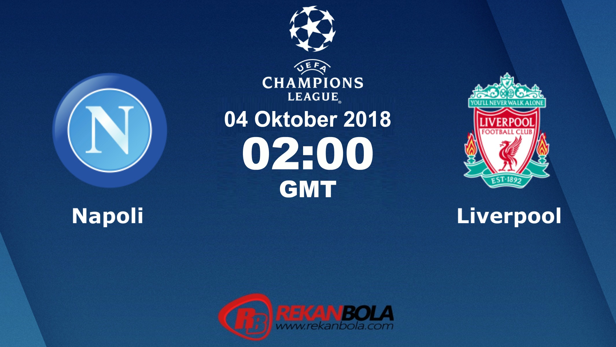 Nonton Siaran Live Streaming Napoli Vs Liverpool 04 Oktober 2018