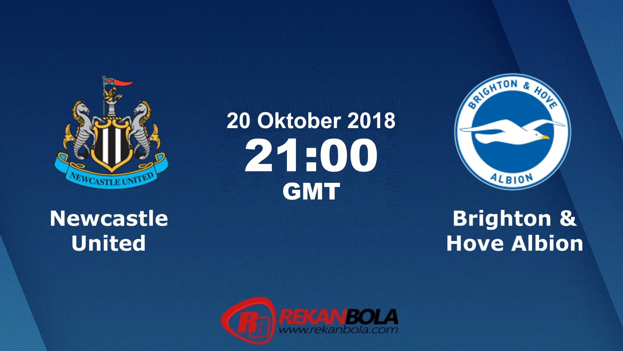 Nonton Siaran Live Streaming Newcastle Vs Brighton 20 Oktober 2018