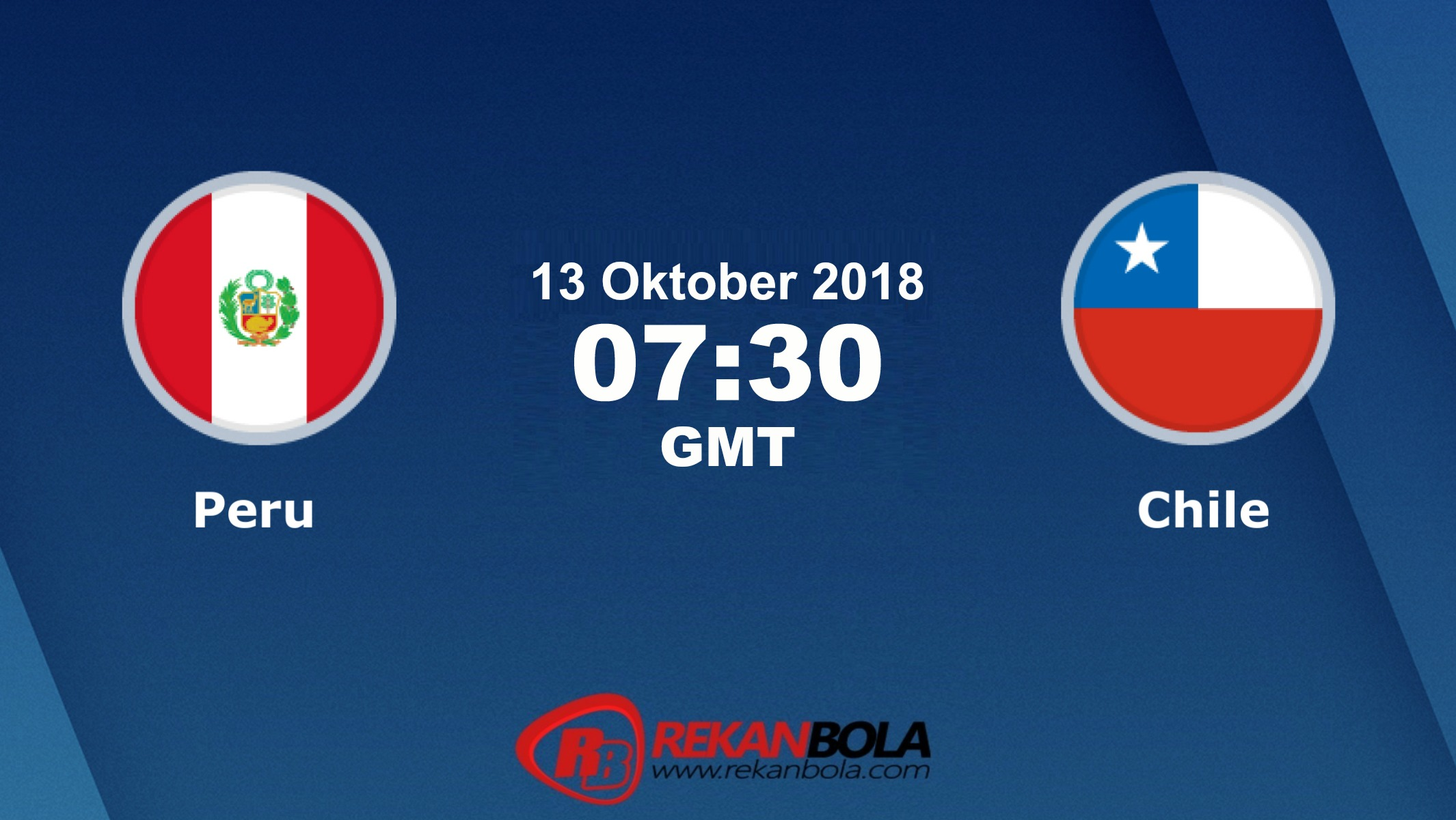 Nonton Siaran Live Streaming Peru Vs Chili 13 Oktober 2018