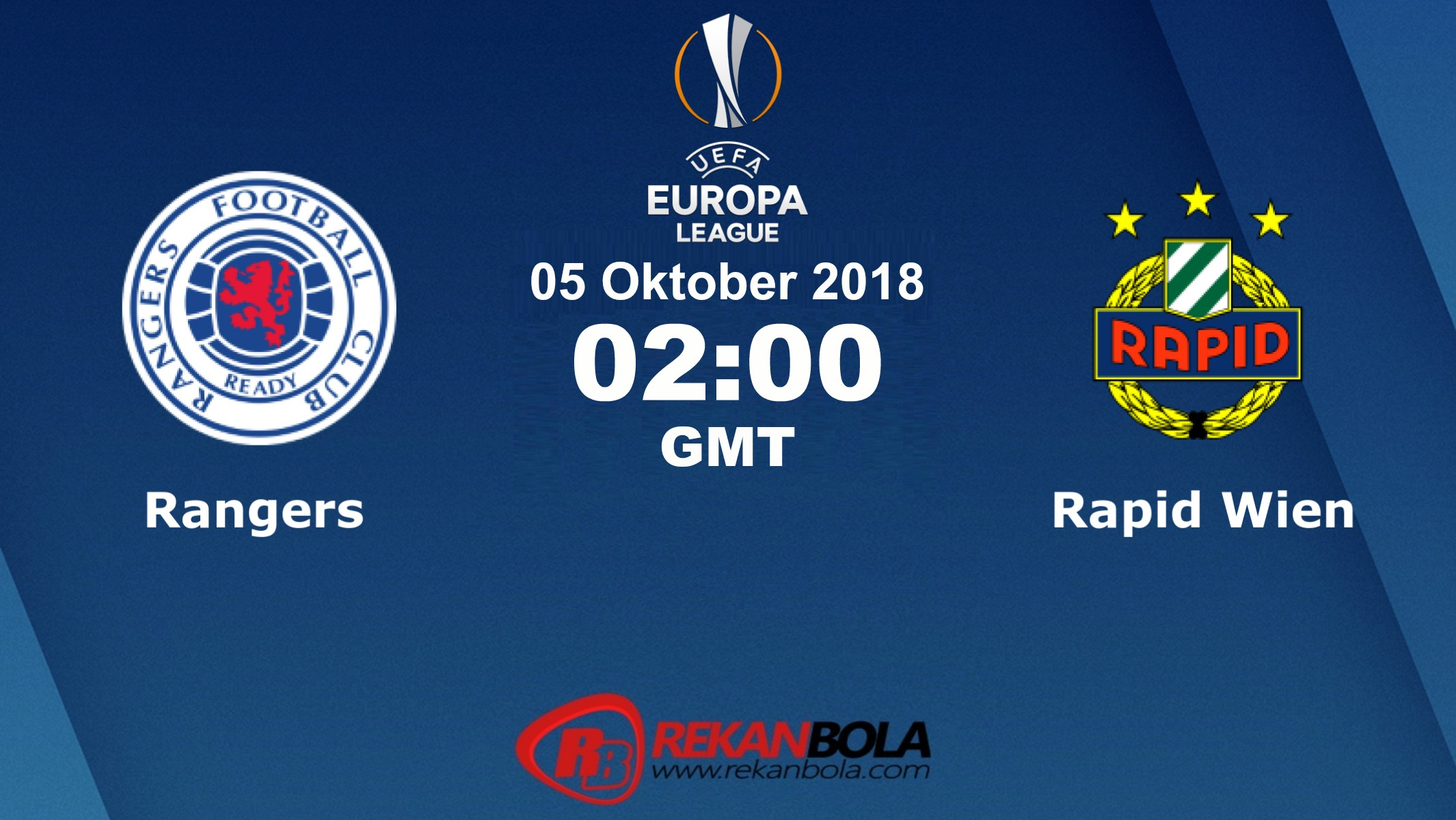 Nonton Siaran Live Streaming Rangers Vs Rapid 05 Oktober 2018