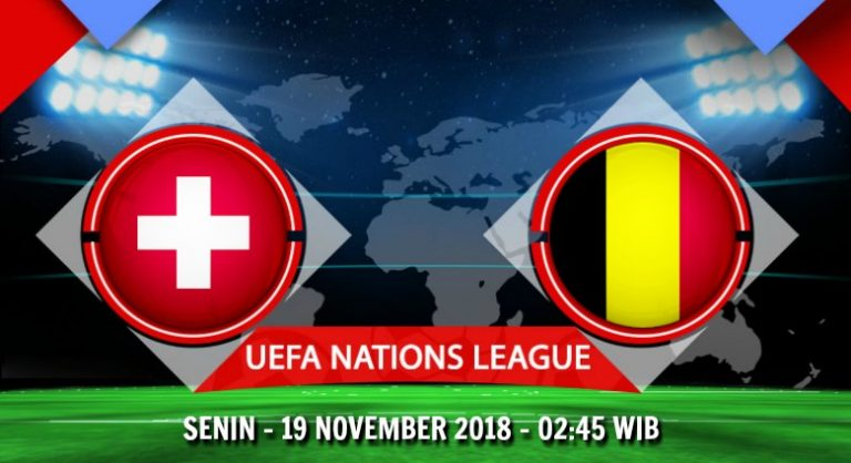 Prediksi Skor Switzerland vs Belgium 19 November 2018