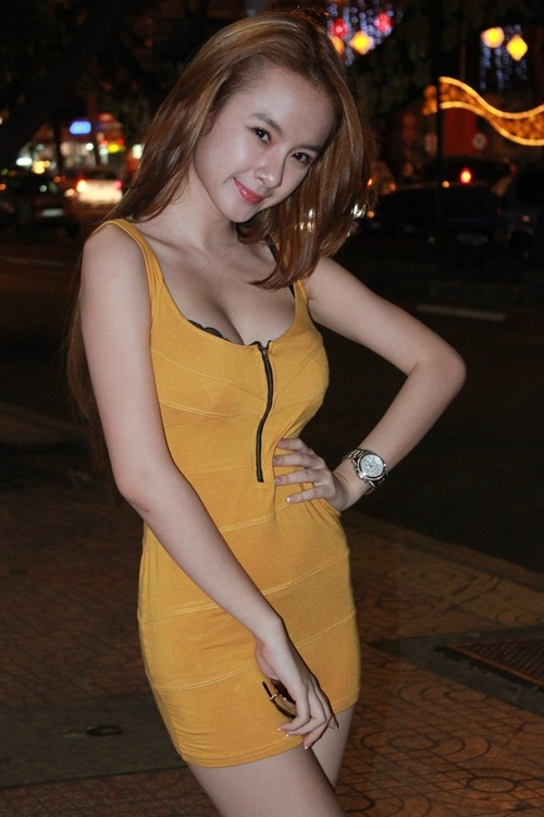 Angela Trinh Phuong Vietnamese Super Star Lady Sexy with