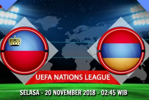Prediksi Skor Liechtenstein vs Armenia 20 November 2018