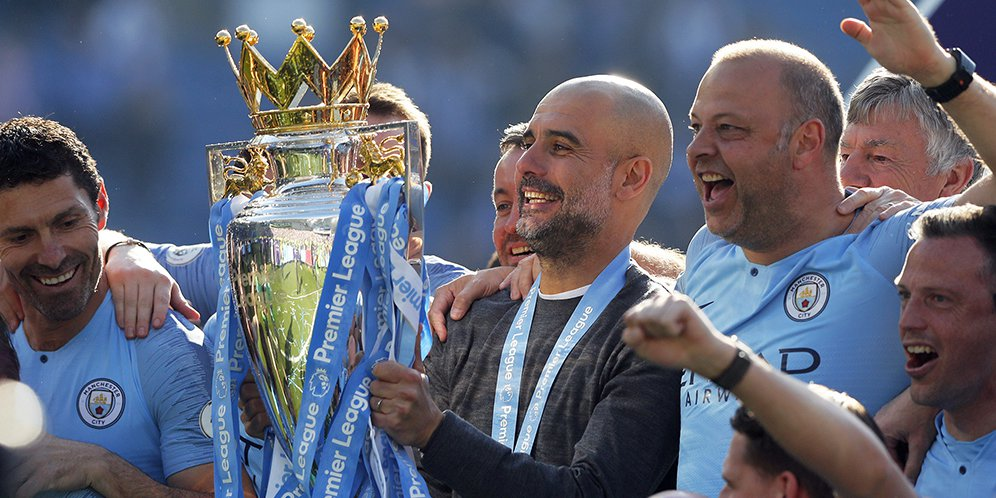 Manchester City Juara, Guardiola: Terima Kasih Liverpool!