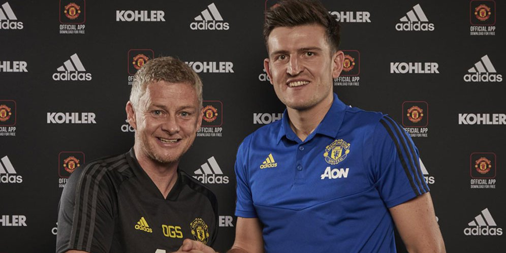 Manchester United Resmikan Transfer Harry Maguire