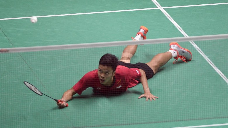 Anthony Ginting Melaju ke Final