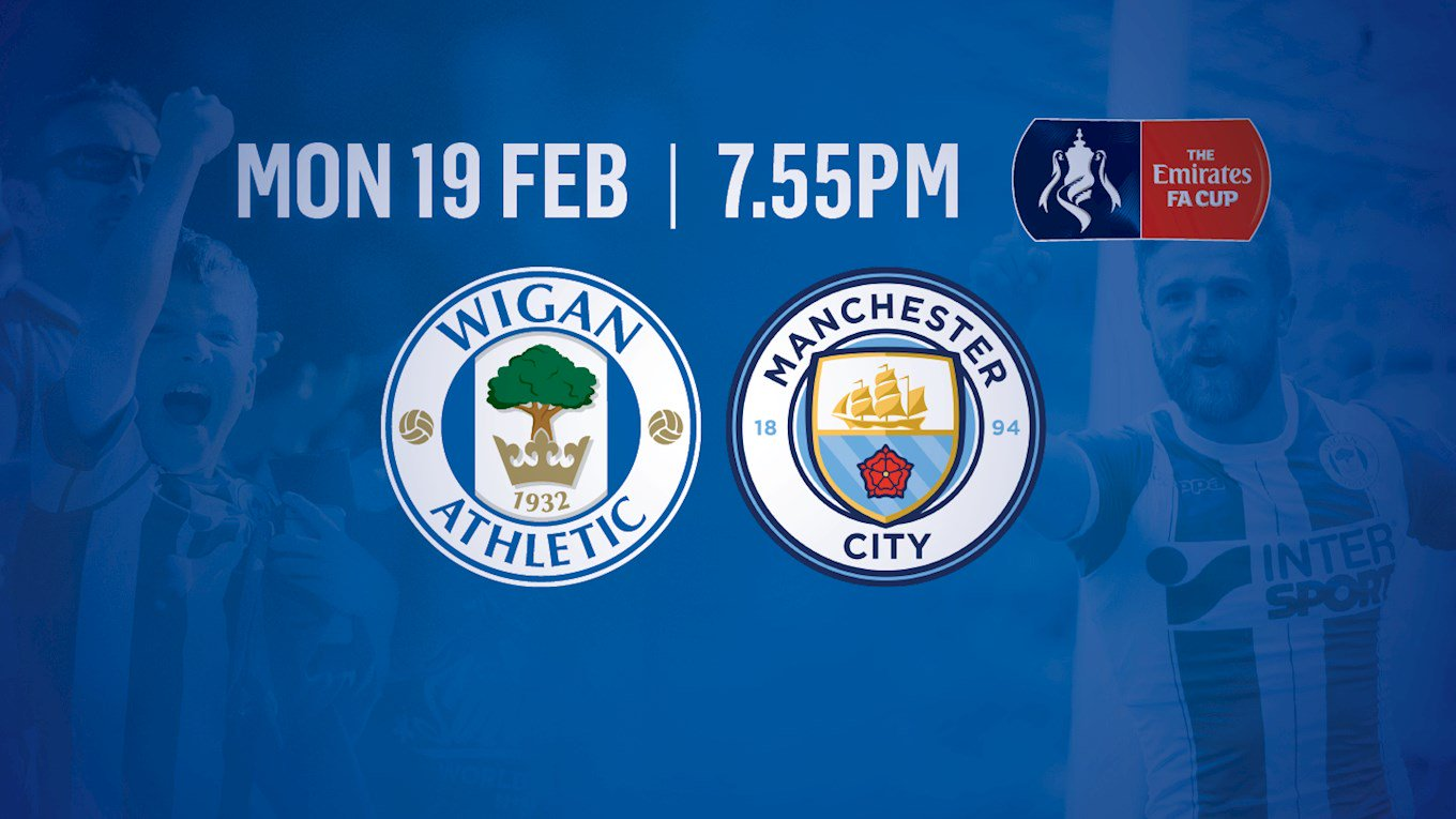 Nonton Streaming Bola Serie FA Cup Wigan vs Manchester City