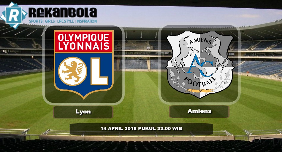 Live Streaming Liga 1 Perancis Olympique Lyonnais vs Amiens, Sabtu 14 April 2018