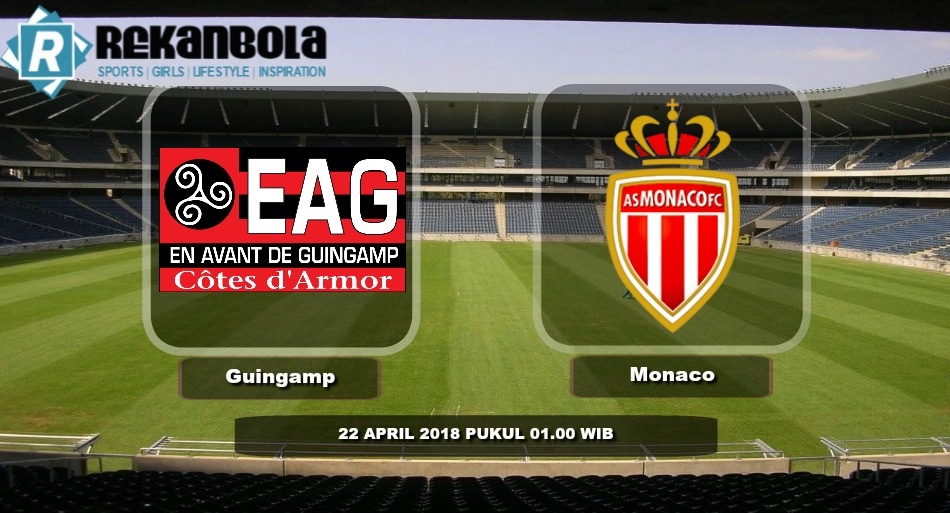 Live Streaming Liga 1 Perancis Guingamp vs AS Monaco, Minggu 22 April 2018