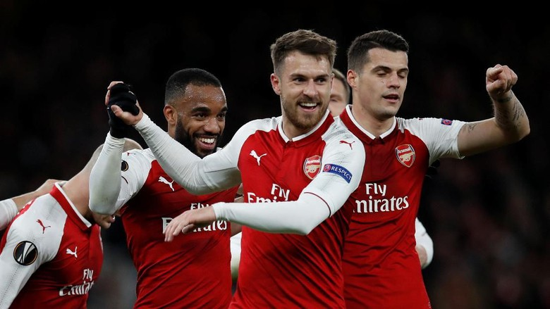 Arsenal Hajar CSKA 4-1